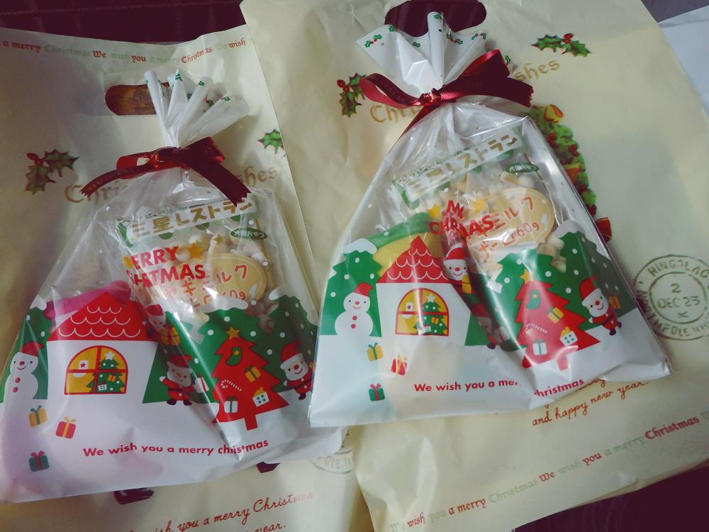 ボイスの子達にクリスマスプレゼントいただきました。